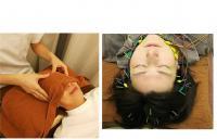 顔パルスとヘッド(頭&首)か足のリラク