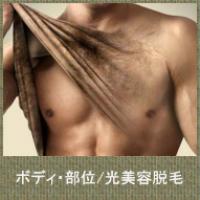 ボディ・パーツ【光美容脱毛】